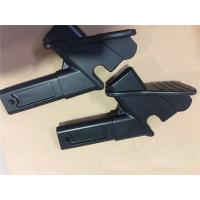 China OEM Service Four  Axis CNC Machining Aluminum Black Anodization CNC Machine Part on sale