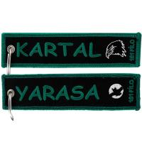 Wholesale Kartal Yarasa Custom Name Tag Embroidery Keychain from china suppliers