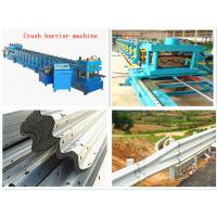 Wholesale OEM / ODM Color Steel Highway Guardrail Roll Forming Machine 18.5kw from china suppliers