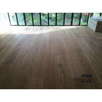 Quality Bespoke 20/6 x 300 x 2200mm AB grade wide White Oak Engineered Flooring for Singapore Villa Projects for sale