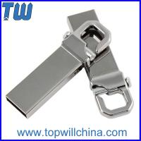 Wholesale Solid Metal Usb Drive 8GB Business Storage Free Logo Printing Company Gift from china suppliers
