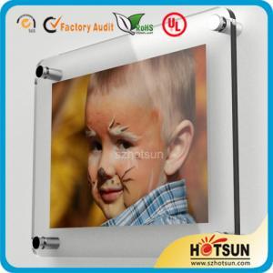 Wholesale Glass wall mounted acrylic photo frames, acrylic wall mount picture frames from china suppliers