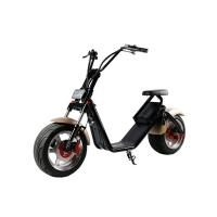 Wholesale 1200 W Removable Battery Two Wheeled Electric Scooters Motorized 50km / H Max Speed from china suppliers