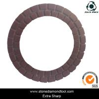 Quality 3 inch 80mm Resin Diamond Floor Grinding Pad Velcro Concrete Abrasive Disc for sale