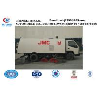 Wholesale HOT SALE!High Quality and competitive price 7M3 JMC cleaning road truck, Customized JMC road sweeper truck for sale from china suppliers