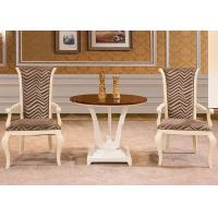 Wholesale High End Modern Dining Room Tables , Round Teak Dining Room Table And Chairs from china suppliers