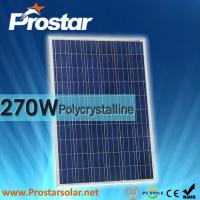 Wholesale Prostar 270w polycrystalline solar panel with 10 years warranty from china suppliers
