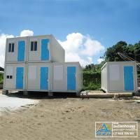 Wholesale Flat Pack Prefabricated Container Houses WIth High Construction Efficiency from china suppliers