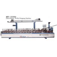 Wholesale MBF-LR300A cold & hot glue profile wrapping machine (PVC & wood veneer) from china suppliers