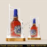 Wholesale Ledpos Acrylic Chivas Bottle Glorifier with Golden Base from china suppliers