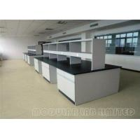 Wholesale Floor Mounted Stee Lab Bench / Modular Laboratory Furniture With Stools from china suppliers