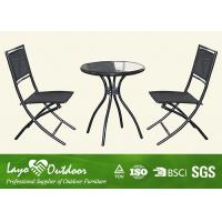 Wholesale Bar Height Patio Furniture Outdoor Application , Outdoor Metal Garden Furniture Pest Control from china suppliers