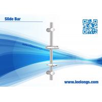 Wholesale Cylinder Adjustable Shower Slide Bar , Thermostatic Shower Bar from china suppliers
