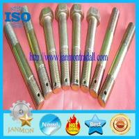 Wholesale Bolt with hole, Bolt with Hole in Head ,Hex head bolts with holes,Hex bolts with holes,Yellow zinc hex bolt with hole from china suppliers
