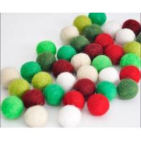 Wholesale high quality factory price sheep wool felt ball garland factory from china suppliers