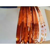 Wholesale Super Thin flat / Square Enameled Ultra Fine Copper Wire For High Frequency Transformers from china suppliers