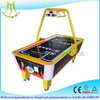 Wholesale Hansel hot selling 2017 coin operated mini air hockey game machine in game center from china suppliers