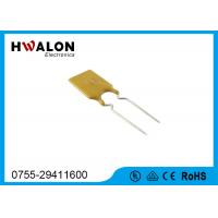 Wholesale 16V 8.9mm 40A Thermal Fuse Resettable PPTC in Yellow , Rectangular Shape from china suppliers