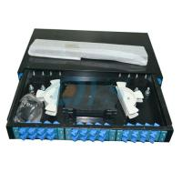 Wholesale SC Slidable Odf Optical Fiber 19 Rack Mount  to Fiber Optic Termination Box from china suppliers