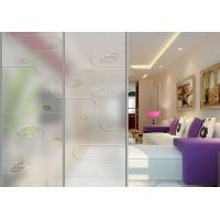 Wholesale Ultra Clear Unique Artistic Frosted Silk Screen Glass Partition For Decoration from china suppliers