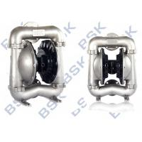 China Corrosion Resistant Air Operated Double Diaphragm Pump Low Shear Force135L/Min on sale