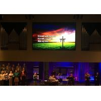 Wholesale Terrific Visual Effect Silent Stage Backdrop Video Wall Led Church Screen from china suppliers