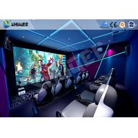 Wholesale Interactive Truck Mobile 5D Cinema With Special Effect Motion Seat from china suppliers