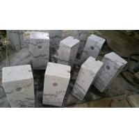 Wholesale Guangxi White Marble Car Packing Stone China Carrara White Marble Packing Barriers from china suppliers