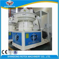 Wholesale CE Ring Die Pellet Machine / Pine Rubber Wood Pelet Mill Production Line from china suppliers