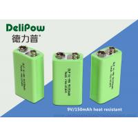 Wholesale 150mAh Rechargeable Batteries Nimh , Rechargeable 9v Batteries For Wireless Microphones from china suppliers