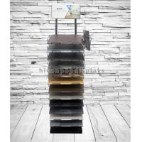 Wholesale Customized Floor Tile Display Racks Metal Stone Showroom Stand Marble Display Rack from china suppliers
