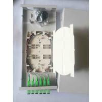 Quality 300 * 130 * 45  Fiber Distribution Box 6 Cores Small Size SC / APC With Adaptor for sale