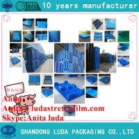 Buy cheap 1200*1200 plastic pallets with Mesh Grids Nine Feet from wholesalers