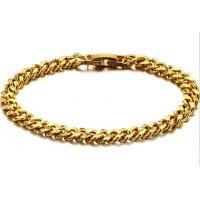 Wholesale Wholesale fashion jewerly 18K Gold plated steel bracelet -BR31 from china suppliers