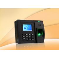 Wholesale Multi Language Fingerprint Time Attendance System Communication TCP / IP from china suppliers