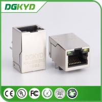 Wholesale Tap-Up Modular Jack RJ45 with Transformer Integrated magnetics 100M, 25.4mm from china suppliers