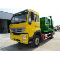 Wholesale Sinotruk Homan 4x2 220hp 10m3 Loader Garbage Compactor Truck 10cbm Hydraulic Swing Arm Type from china suppliers
