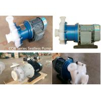 Quality chemical Plastic Acid Pump for Corrosive fluids for sale