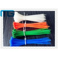 Wholesale Long high temperature nylon66 Cable zip tie with multipal colors ROHS CE Approve 100pcs/bag from china suppliers