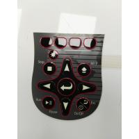 Quality Gloss Key Tactile Membrane Switch Keyboard With 3M Adhesive For Industry Use for sale