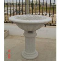 Wholesale Big Flower Bed, Light Grey Granite Flower Pot, Stone Carvings from china suppliers