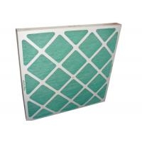 Wholesale Electronic Furance Pleated Panel Air Filters Performance With Cardboard Frame G4 from china suppliers