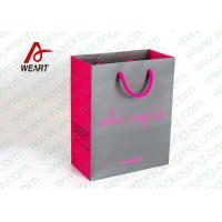 Wholesale Grey & Pink Coloured Paper Gift Bags For Weddings 210gsm Material from china suppliers
