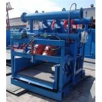 Buy cheap Low noise ZQJ series oilfield Drilling Mud Desander with large capacity from wholesalers