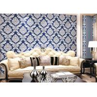 Wholesale Modern Style PVC Damask Low Price Wallpaper for Office / House Decoration , SAC CE from china suppliers