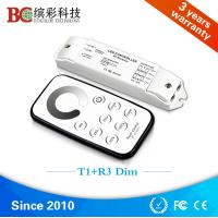 Wholesale Professional Bincolor Mini dimming controller T1+R3 3 channels led dimmer with touch RF remote from china suppliers