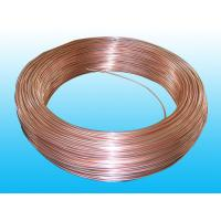 Wholesale Good Plasticity Air Conditioning Copper Tubing / Brazed Tube 3.6* 0.5 mm from china suppliers