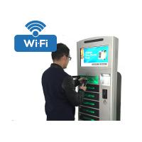 Wholesale Coins / Bills Payment Cell Phone Charging Station Kiosk Hotspot Wifi Connection from china suppliers