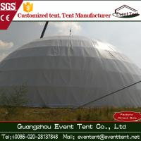 Wholesale 35m hot galvanized steel frame PVC roof large dome tent for event party 1000 people capacity from china suppliers