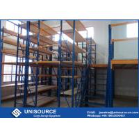 Wholesale Extended Rack Supported Mezzanine Powder Coated Size Customized For Industrial from china suppliers